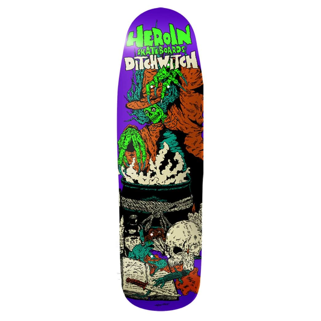 Heroin Ditch Witch 4 Deck - 9.3"
