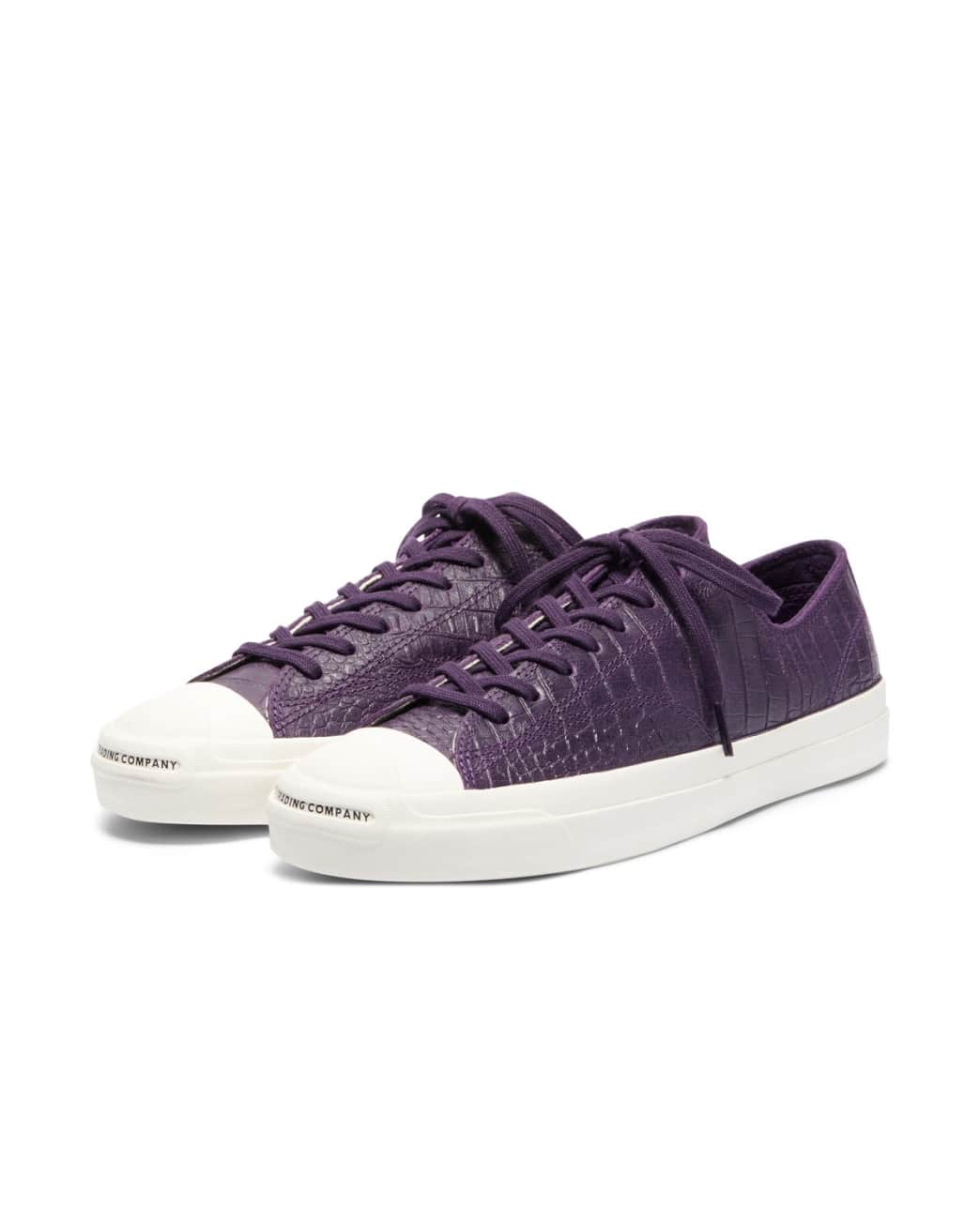Converse CONS x Pop Trading Company JP Pro Ox Shoes - Dark Purple 'Dragonskin' | Shoes by Converse Cons 2