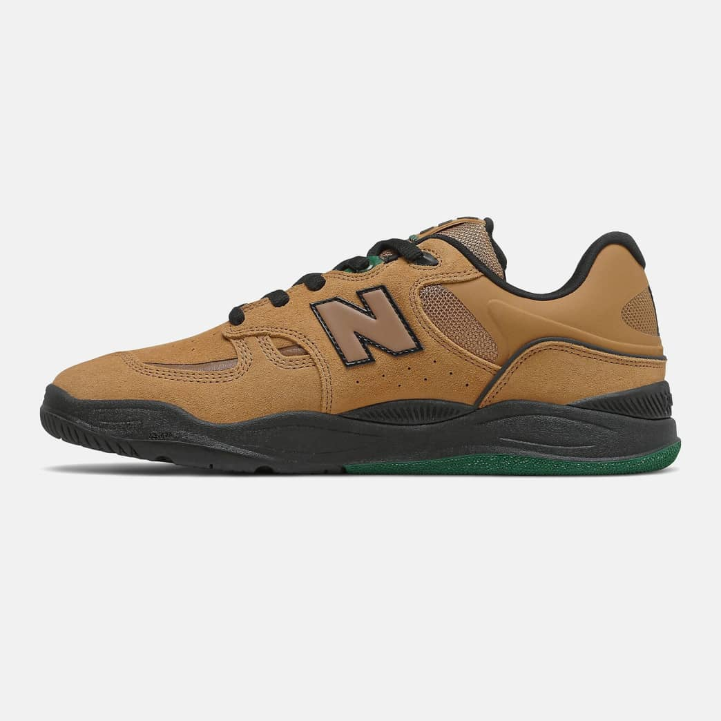 New Balance Numeric Tiago 1010 Shoes - Brown / Green | Shoes by New Balance 3