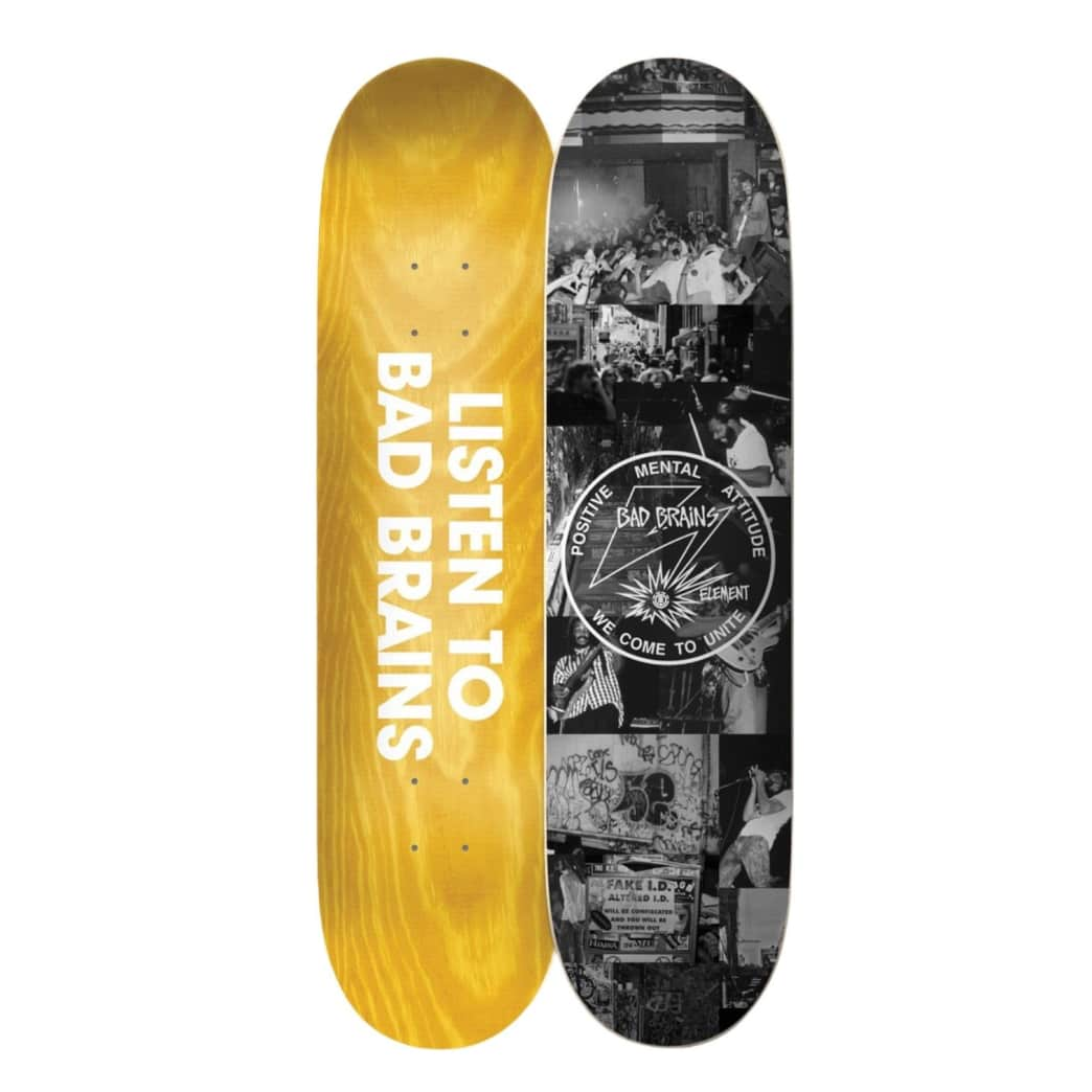 Element x Bad Brains BJ Papas Deck8.5"