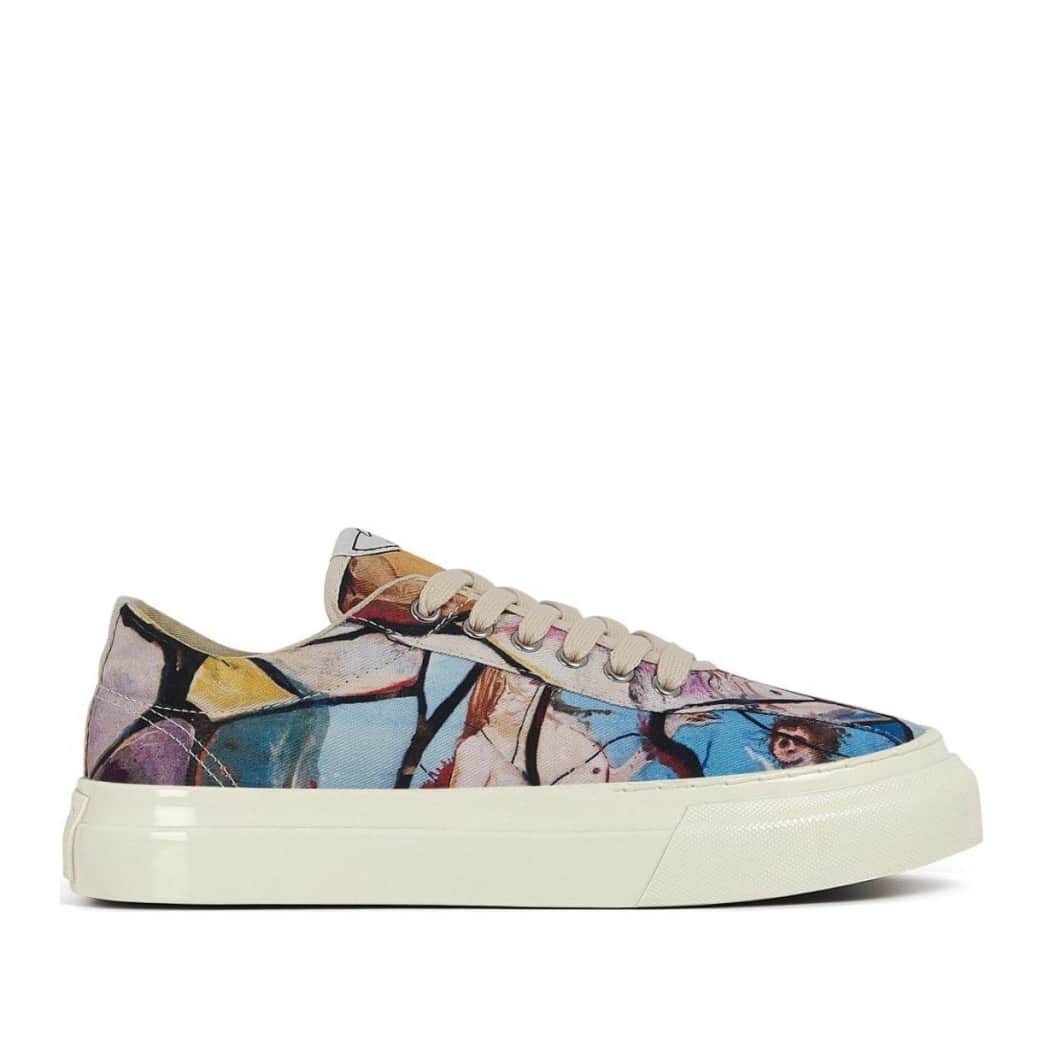 Stepney Workers Club x Endless Joy Dellow Womens Canvas Shoes - Cracked Earth | Shoes by Stepney Workers Club 1