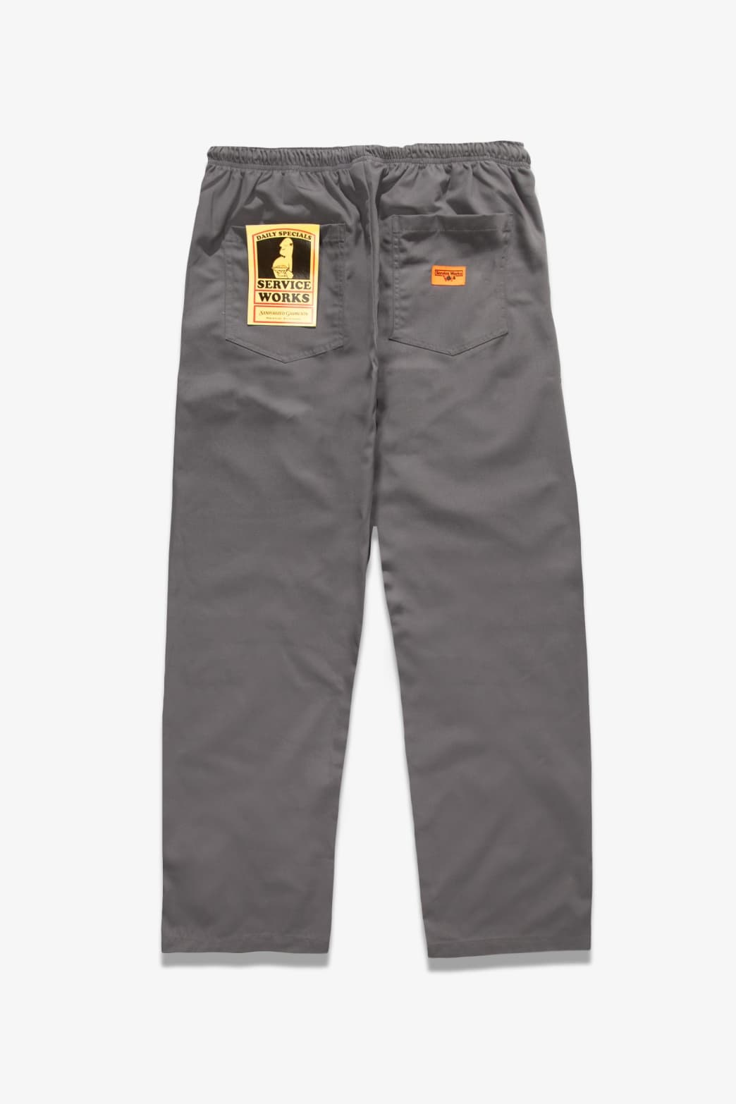 Service Works - Trade Chef Pants - Grey | Trousers by Service Works 1