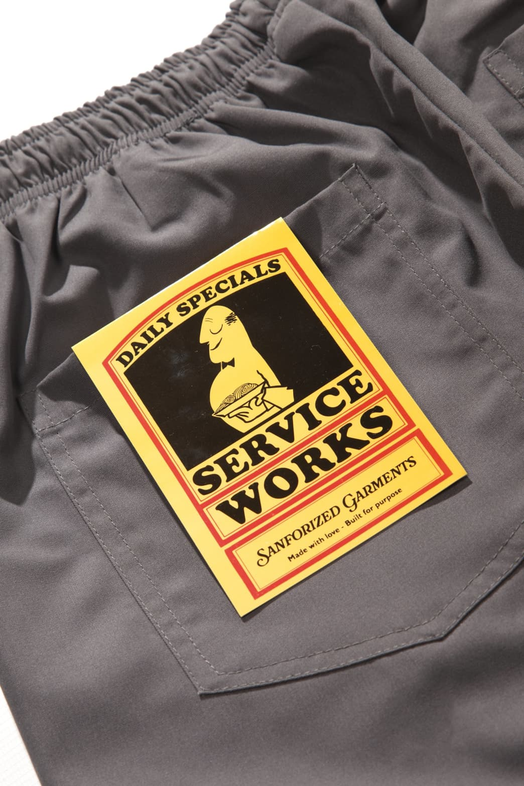 Service Works - Trade Chef Pants - Grey | Trousers by Service Works 6