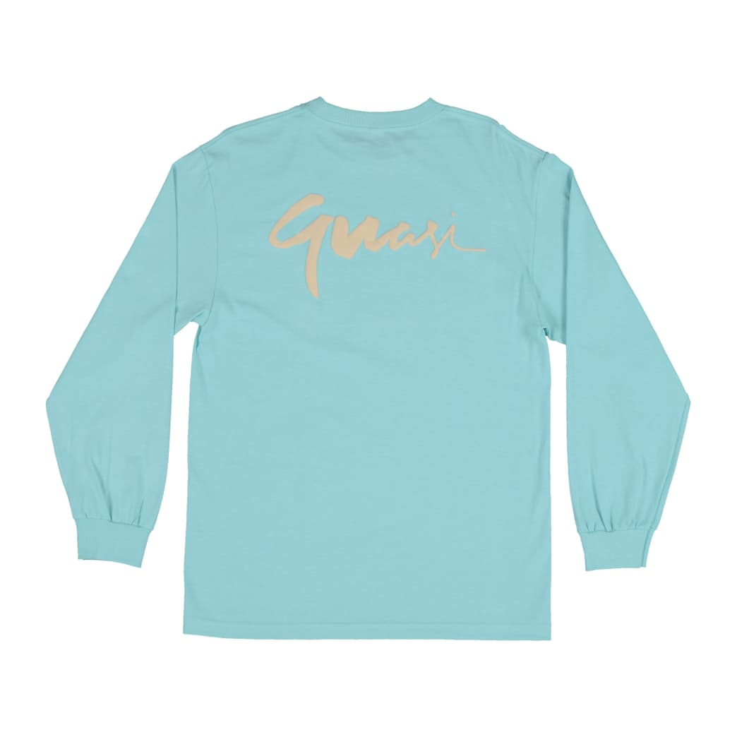 Quasi Century Long Sleeve T-Shirt - Celadon | Longsleeve by Quasi Skateboards 2