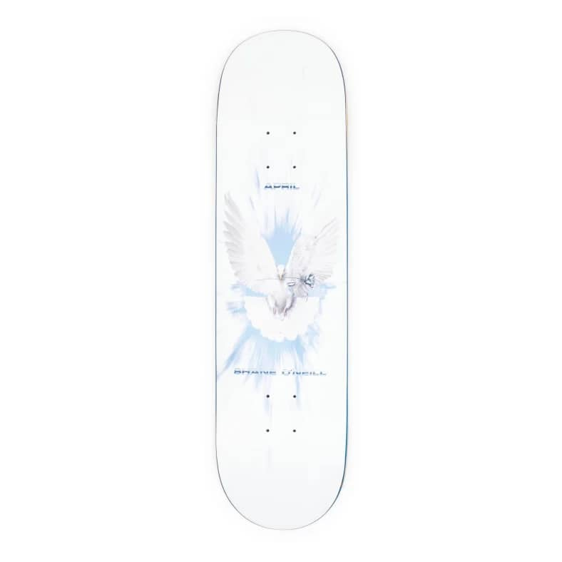 "April Skateboards Shane O'Neill Dove Deck 8.25""   Deck by April Skateboards 1"