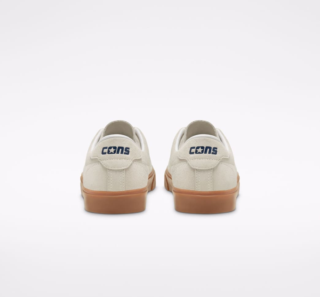 Converse CONS Louie Lopez Pro Ox Skate Shoes - Egret / Obsidian / Gum | Shoes by Converse Cons 7