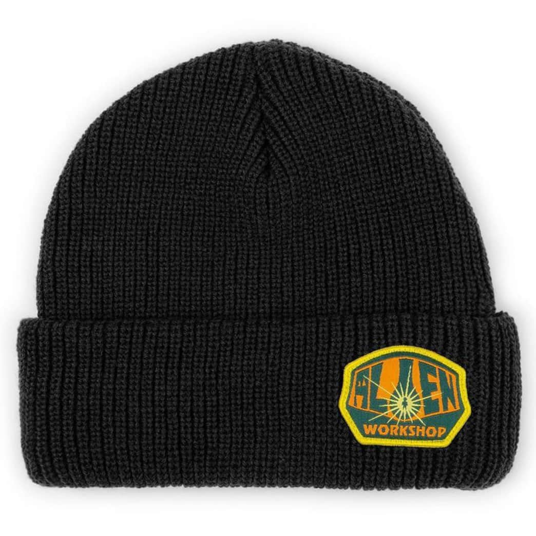 ALIEN WORKSHOP OG Logo Beanie Black | Beanie by Alien Workshop 1