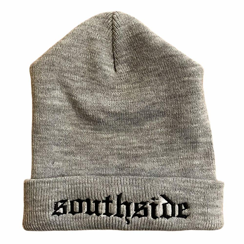 Southside Old English Beanie Grey | Beanie by SouthSide Skate Shop 1
