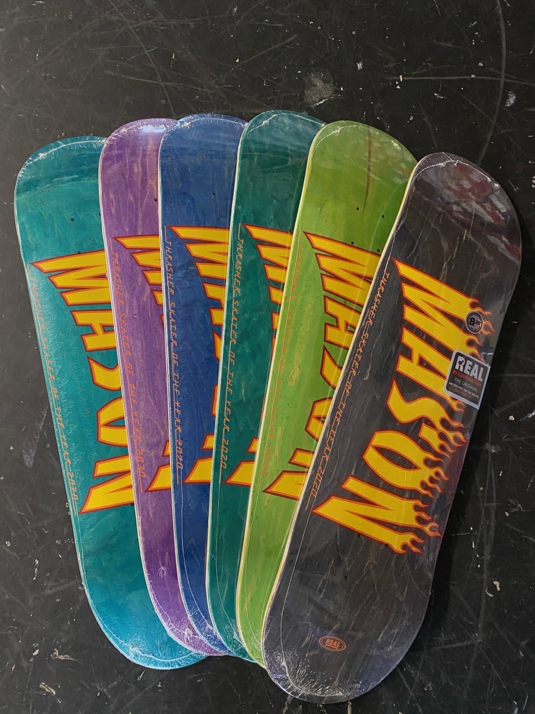 Real Mason SOTY Deck- (8.06/8.25) | Deck by Real Skateboards 1