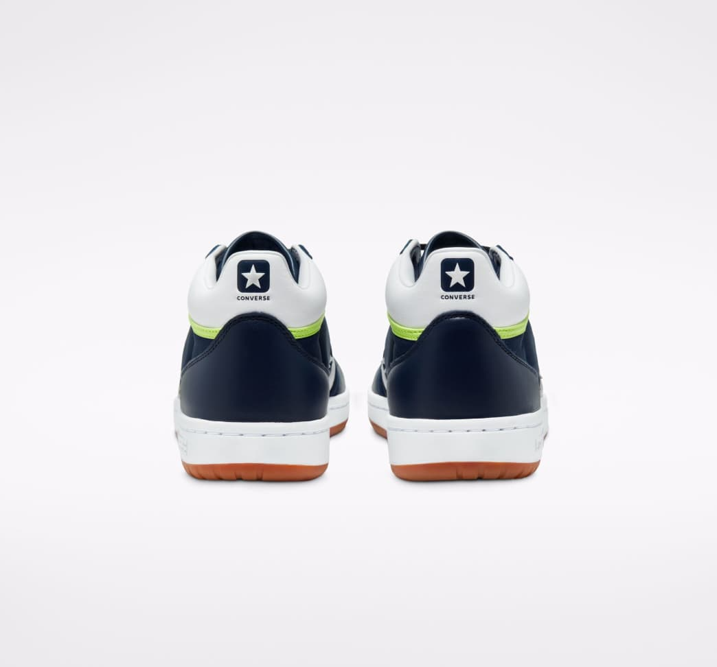 Converse CONS Fastbreak Pro Skate Shoes - Obsidian / White / Ghost Green | Shoes by Converse Cons 6