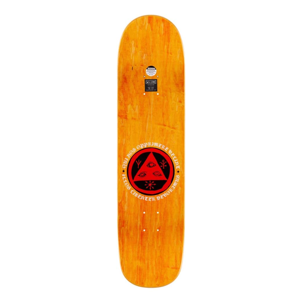 "Welcome - Lessrach On Bunyip Mid Deck (8.25"") 