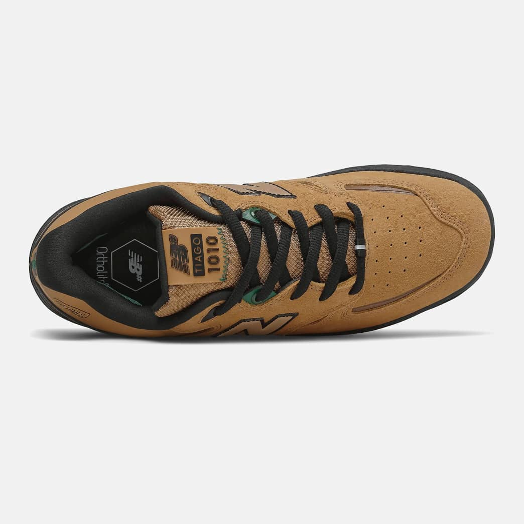 New Balance Numeric Tiago 1010 Shoes - Brown / Green | Shoes by New Balance 2