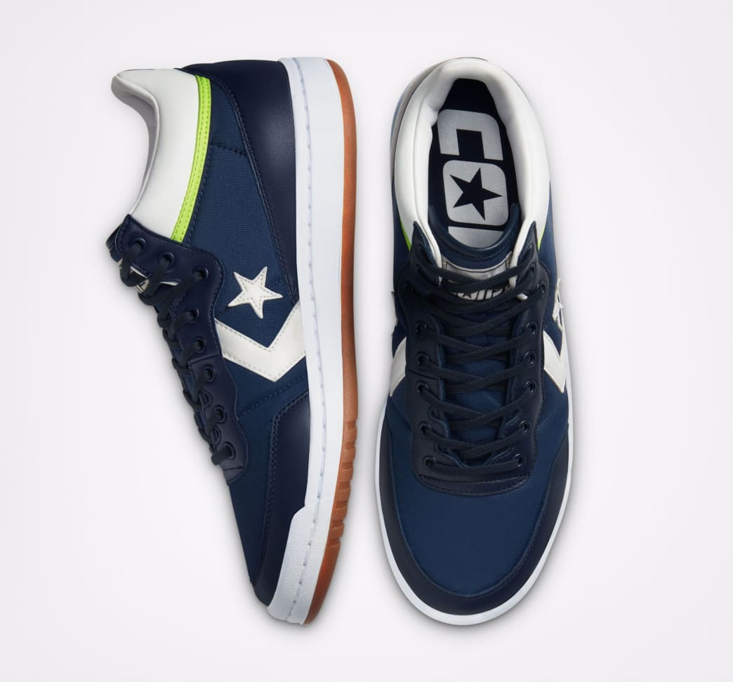 Converse CONS Fastbreak Pro Skate Shoes - Obsidian / White / Ghost Green | Shoes by Converse Cons 3