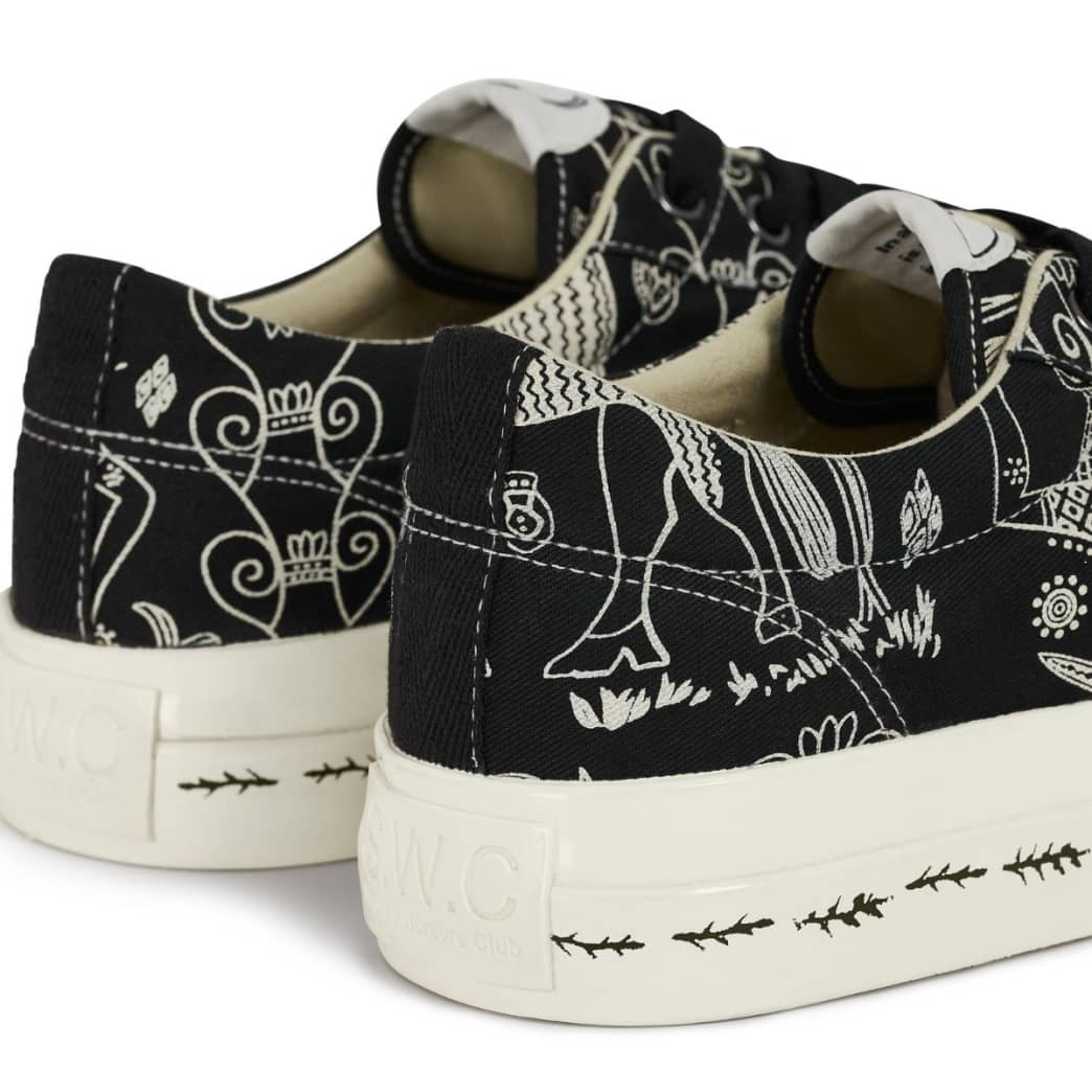 Stepney Workers Club x Endless Joy Dellow Mens Canvas Shoes - Gorgon | Shoes by Stepney Workers Club 4