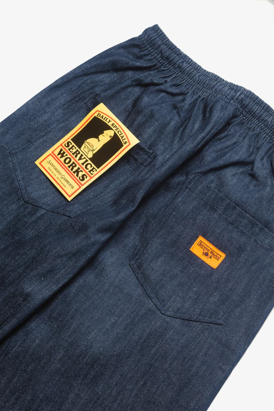 Service Works - Classic Chef Pants - Indigo Denim   Trousers by Service Works 2