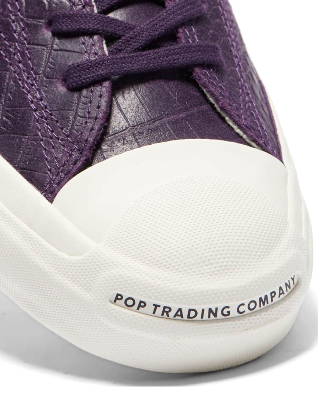 Converse CONS x Pop Trading Company JP Pro Ox Shoes - Dark Purple 'Dragonskin' | Shoes by Converse Cons 5