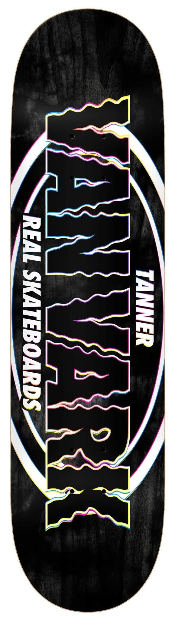 REAL Tanner Pro Oval Deck 8.38 | Deck by Real Skateboards 1