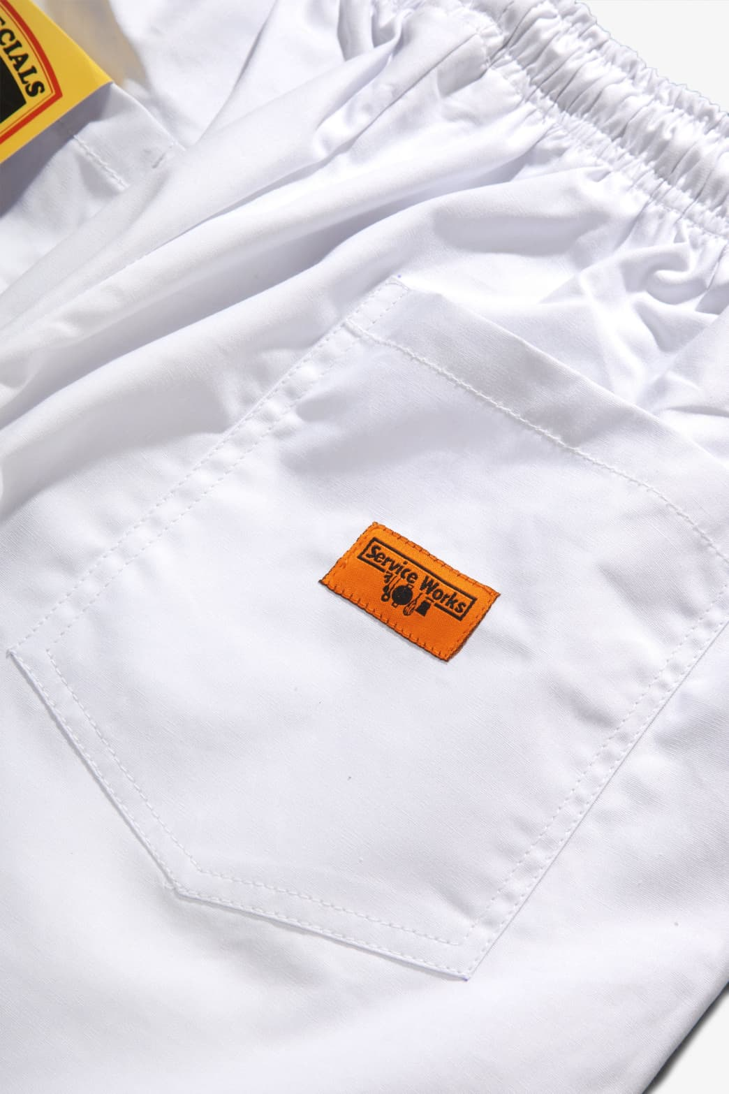 Service Works - Trade Chef Pants - White | Trousers by Service Works 7