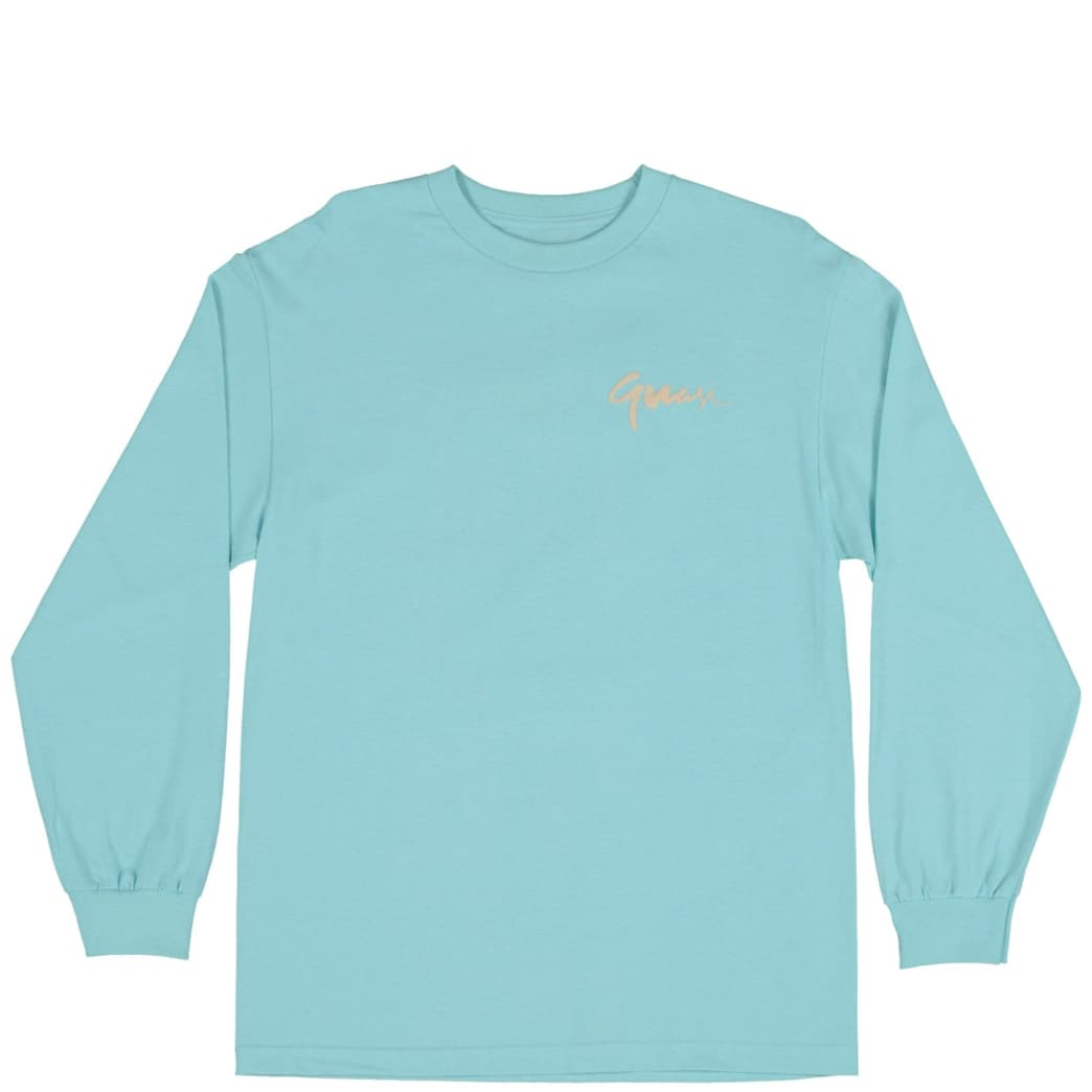 Quasi Century Long Sleeve T-Shirt - Celadon | Longsleeve by Quasi Skateboards 1
