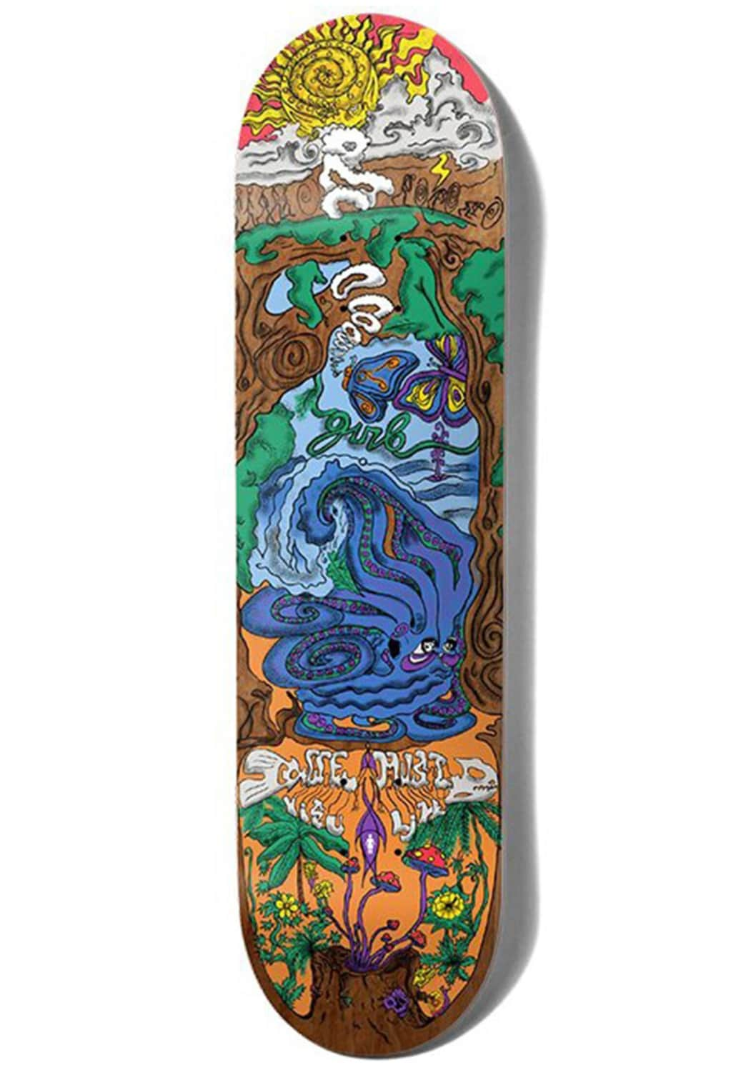 Girl Simon Bannerot We Must Visualize Skateboard Deck - 8.25"