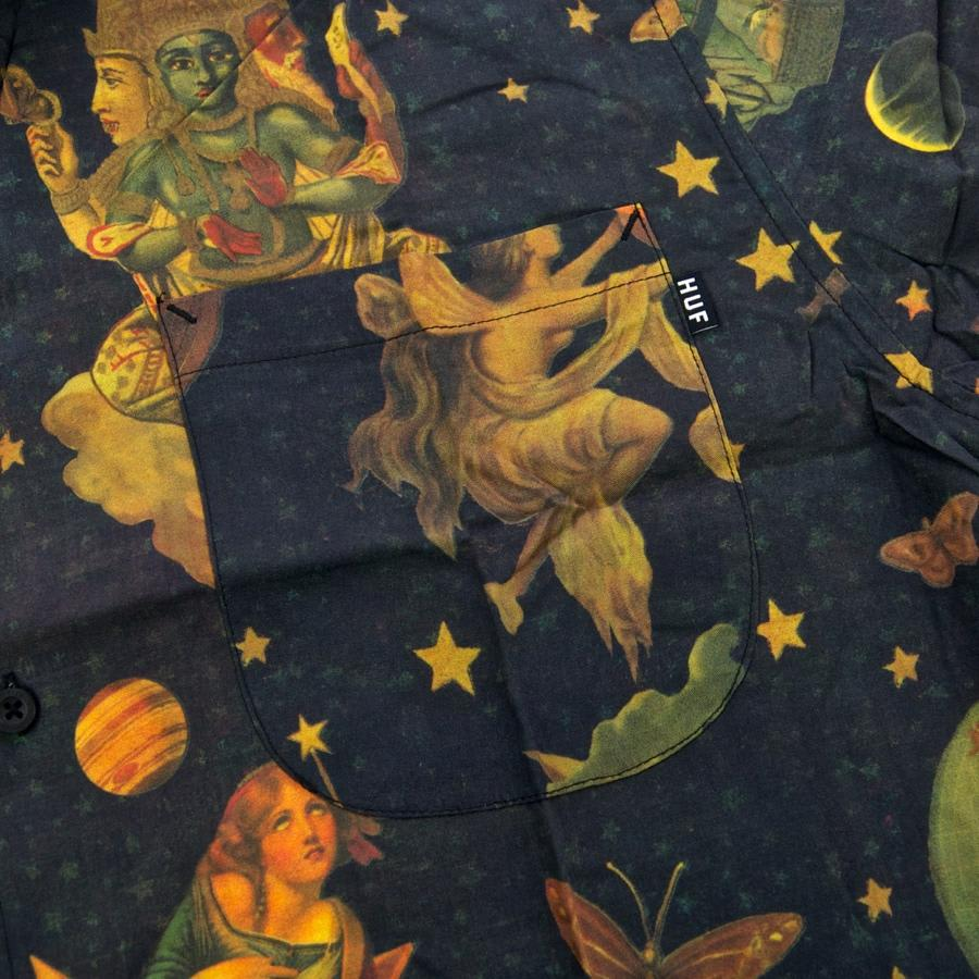 Huf - Smashing Pumpkins Tonight Tonight Short Sleeve Shirt - Dark Green