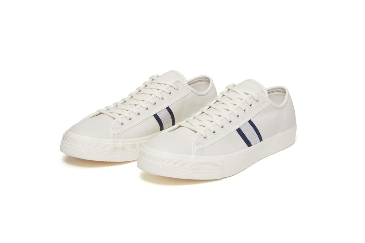 20% Off - Converse Cons Player LT Ox Skateboarding Shoes - Egret/Navy/Egret