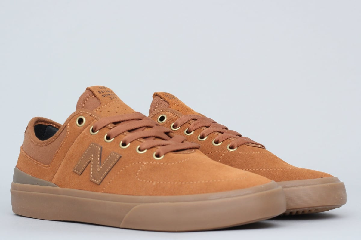 New Balance NM379 Shoes Brown Gum Jake Hayes
