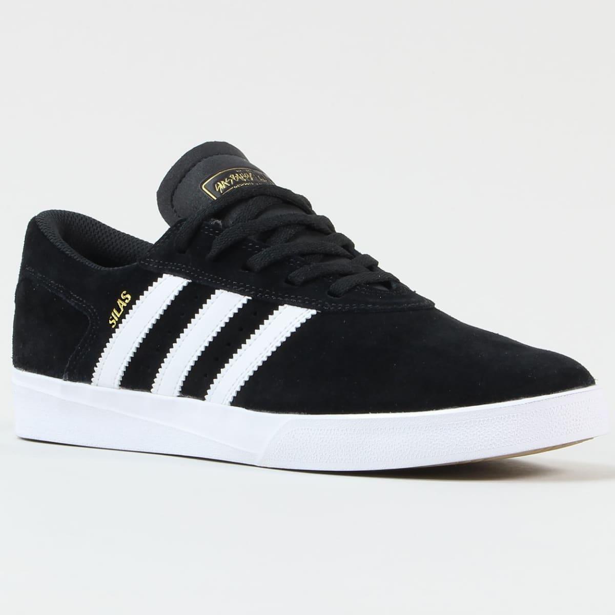 25% Off - adidas Skateboarding Silas Vulc ADV Shoes - Black / White