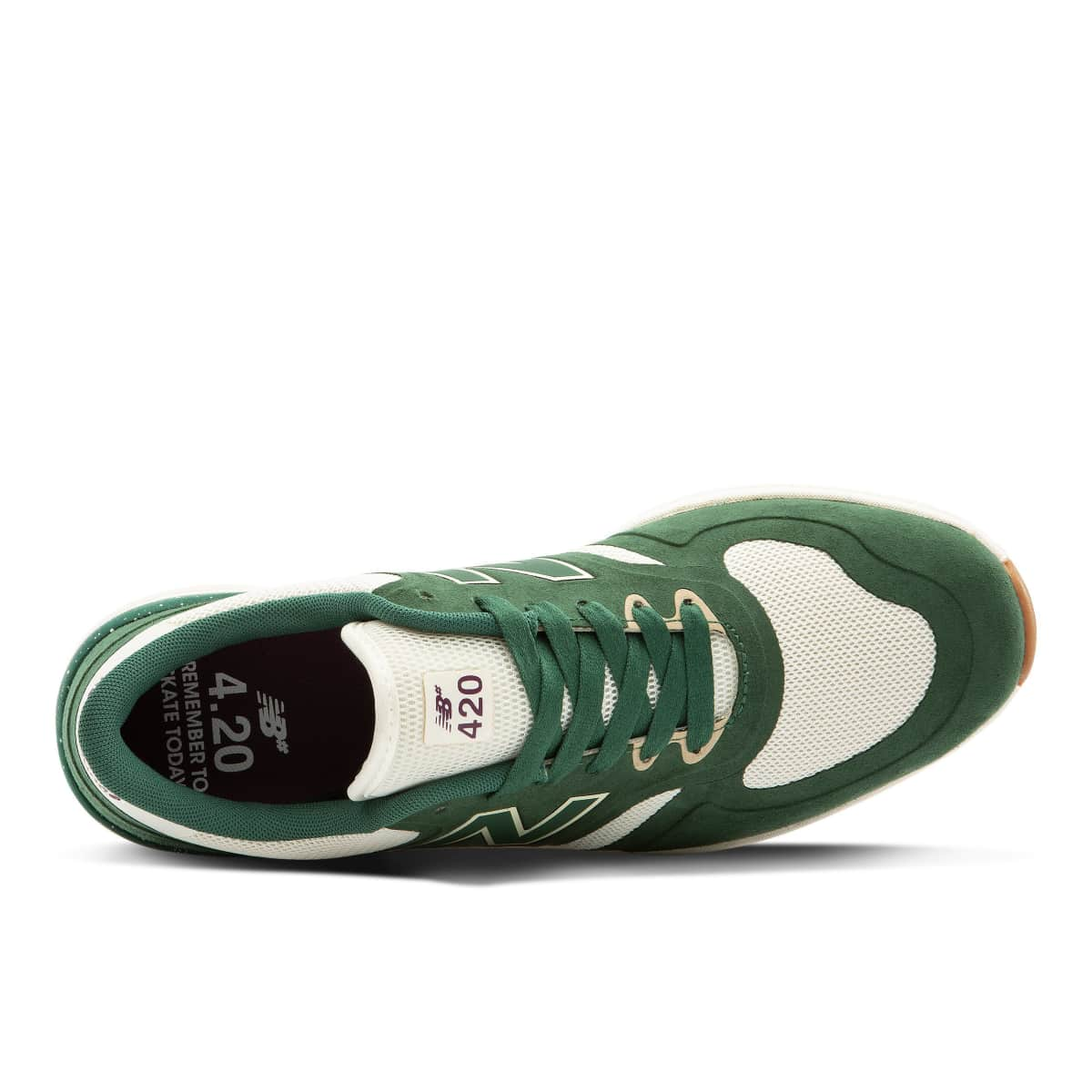 New Balance Numeric 420 Skate Shoe - Green / White - Limited Edition