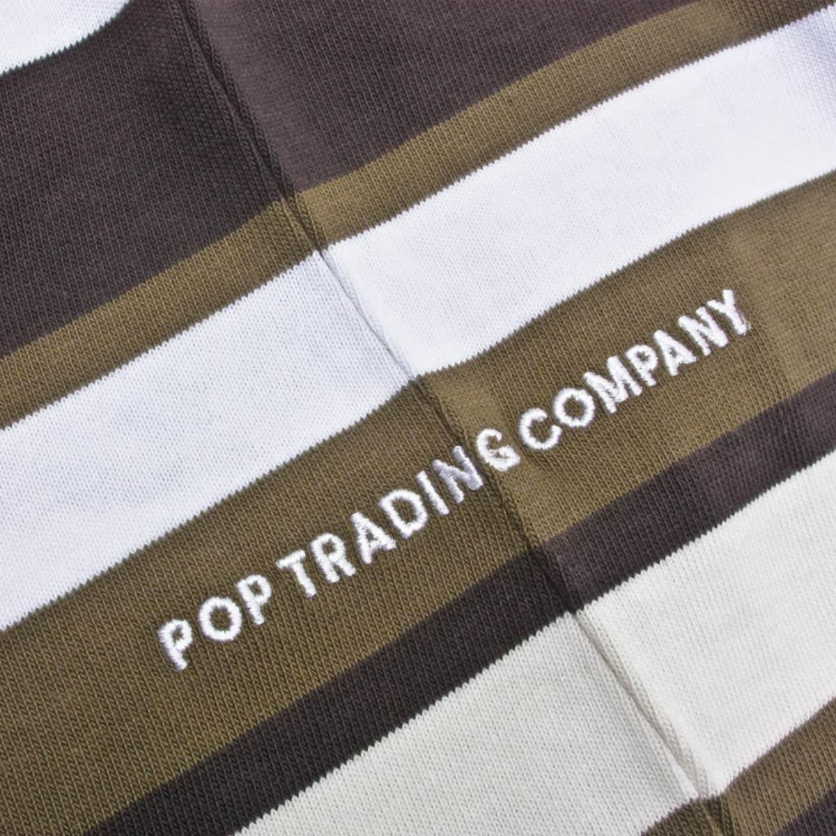 RRP £79.99 MENS POP TRADING CO CO STRIPE LONG SLEEVE MULTI T-SHIRT SA2