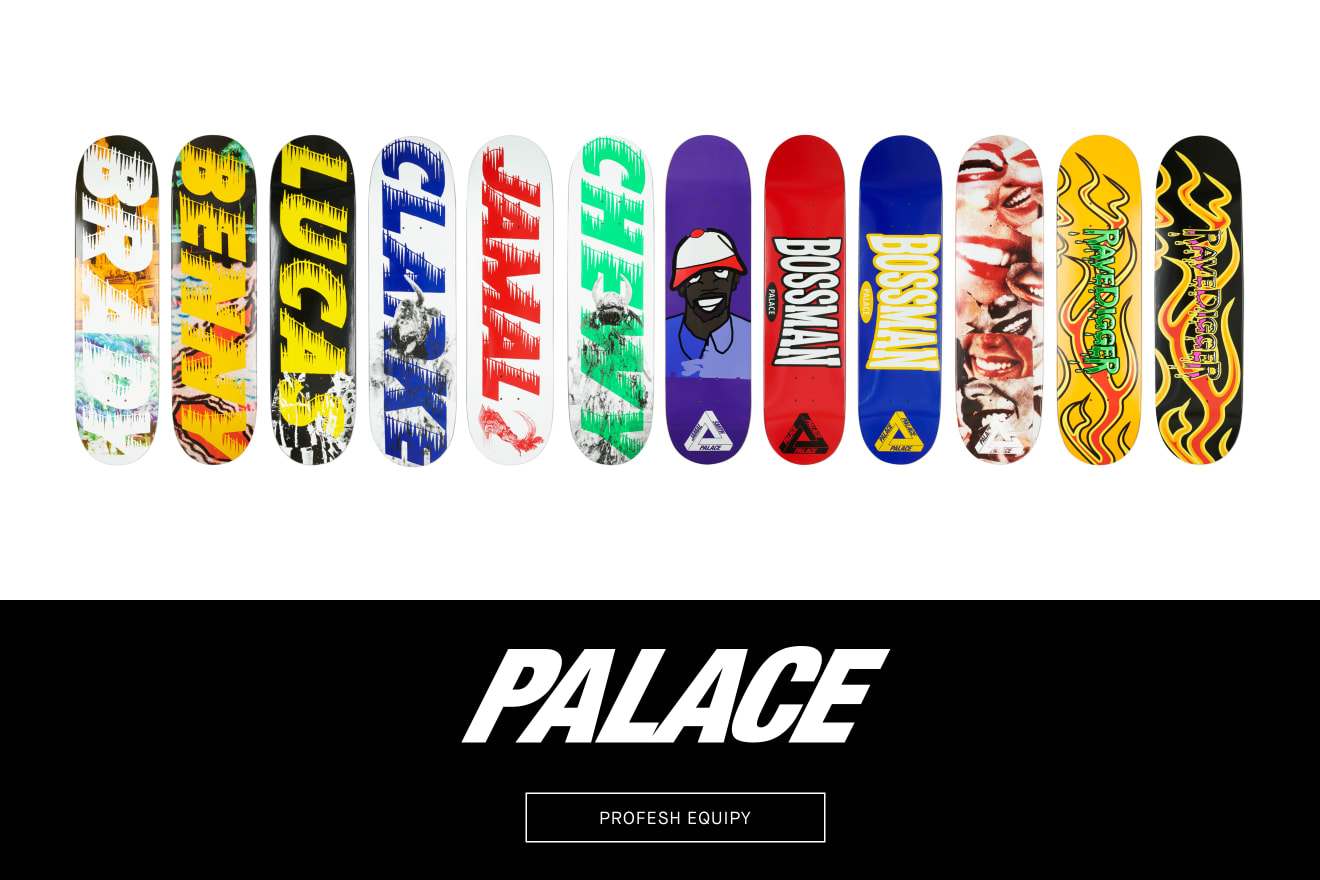 Palace Skateboards AW20 Hardware Collection