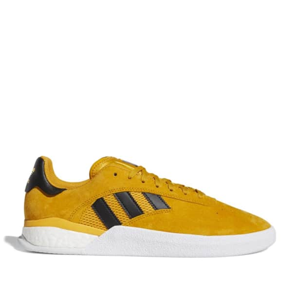 adidas Skateboarding 3ST.004 Miles Silvas Shoes - Yellow / Core Black / Gold Metallic