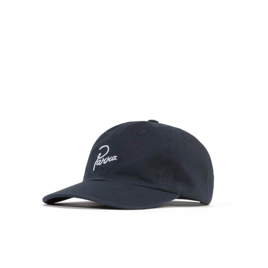 by Parra Signature Logo Hat - Navy Blue   Baseball Cap by by Parra 1