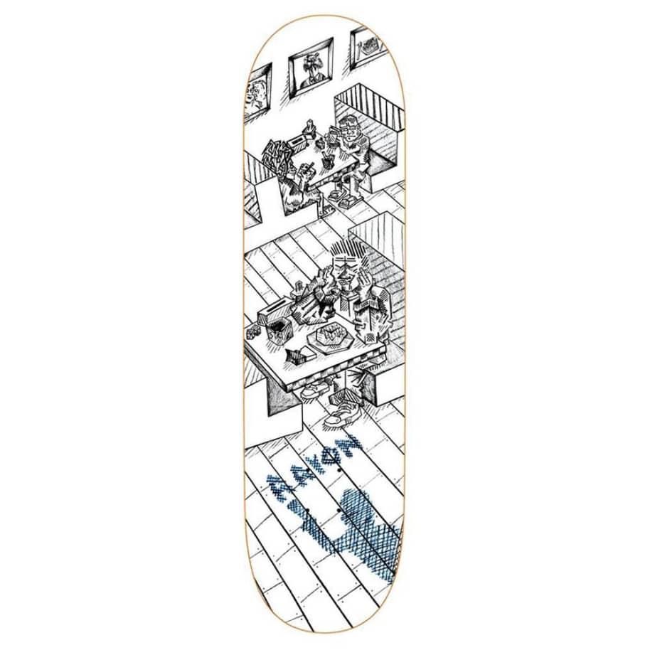 "Polar Skate Co Aaron Herrington Diner Skateboard Deck - 8.125"" | Deck by Polar Skate Co 1"