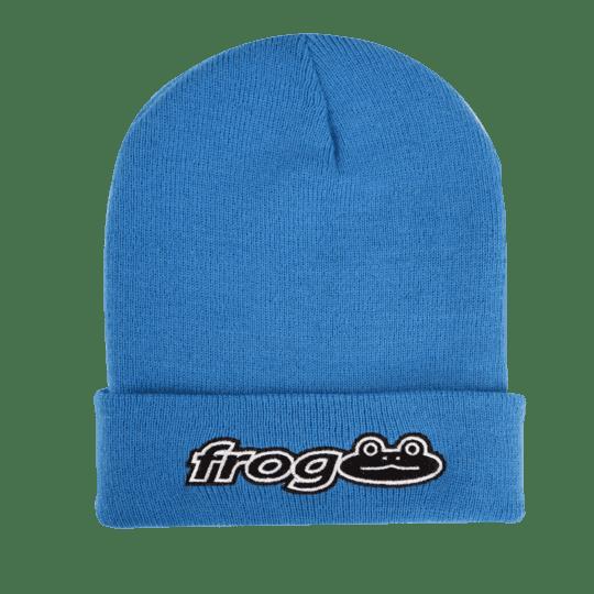 Frog Skateboards Works Beanie - Car Blue | Beanie by Frog Skateboards 1