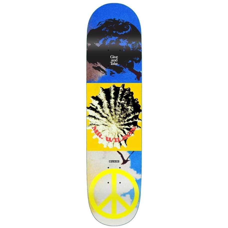 "Quasi Wilson Aquarius Skateboard Deck - 8.125"" | Deck by Quasi Skateboards 1"
