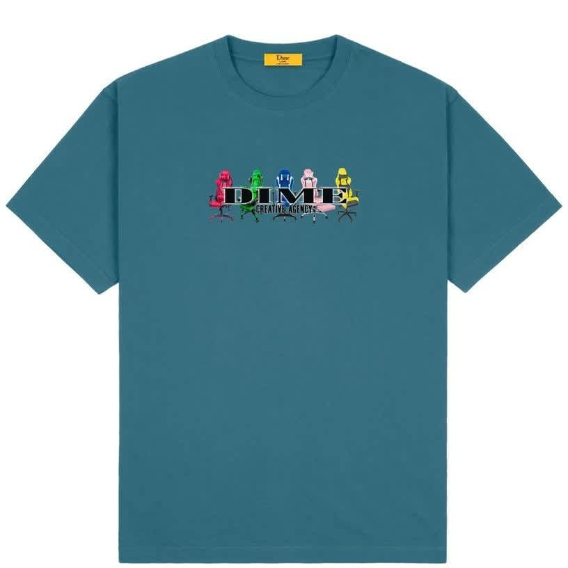 Dime Creative Agency T-Shirt - Real Teal | T-Shirt by Dime 1