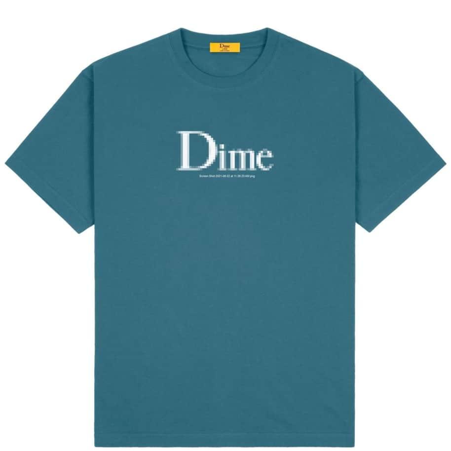 Dime Classic Screenshot T-Shirt - Real Teal | T-Shirt by Dime 1