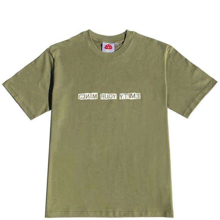 Stingwater Empty Your Mind T-Shirt - Olive Green | T-Shirt by Stingwater 1