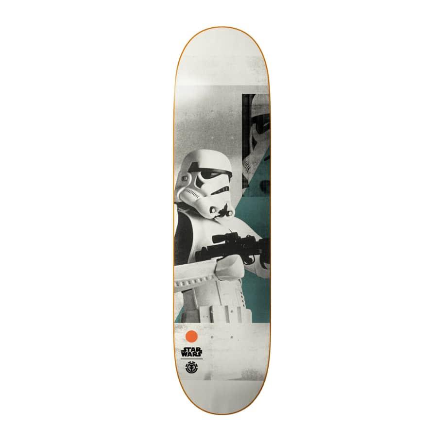 """Element X Star Wars Stormtrooper Deck - 8.25""""   Deck by Element 1"""
