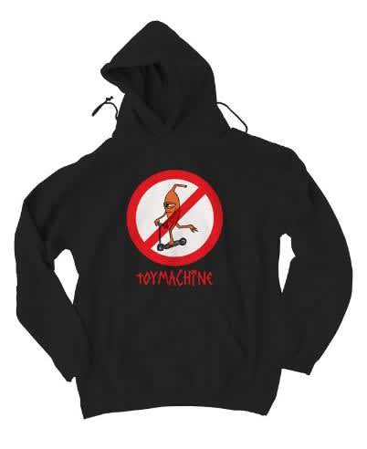 TOY MACHINE NO SCOOTER HOODIE   Hoodie by Toy Machine 1