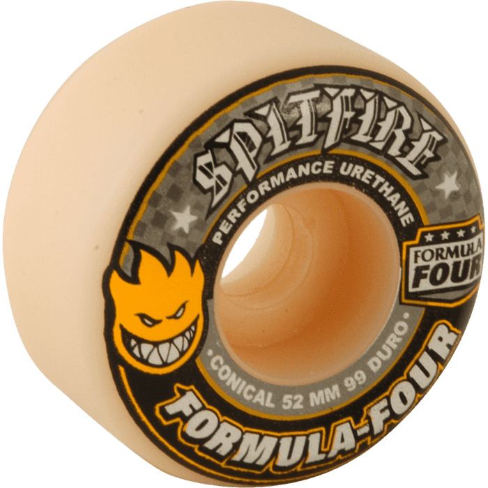 Spitfire Wheels Formula Four Conical 52mm | Wheels by Spitfire Wheels 1
