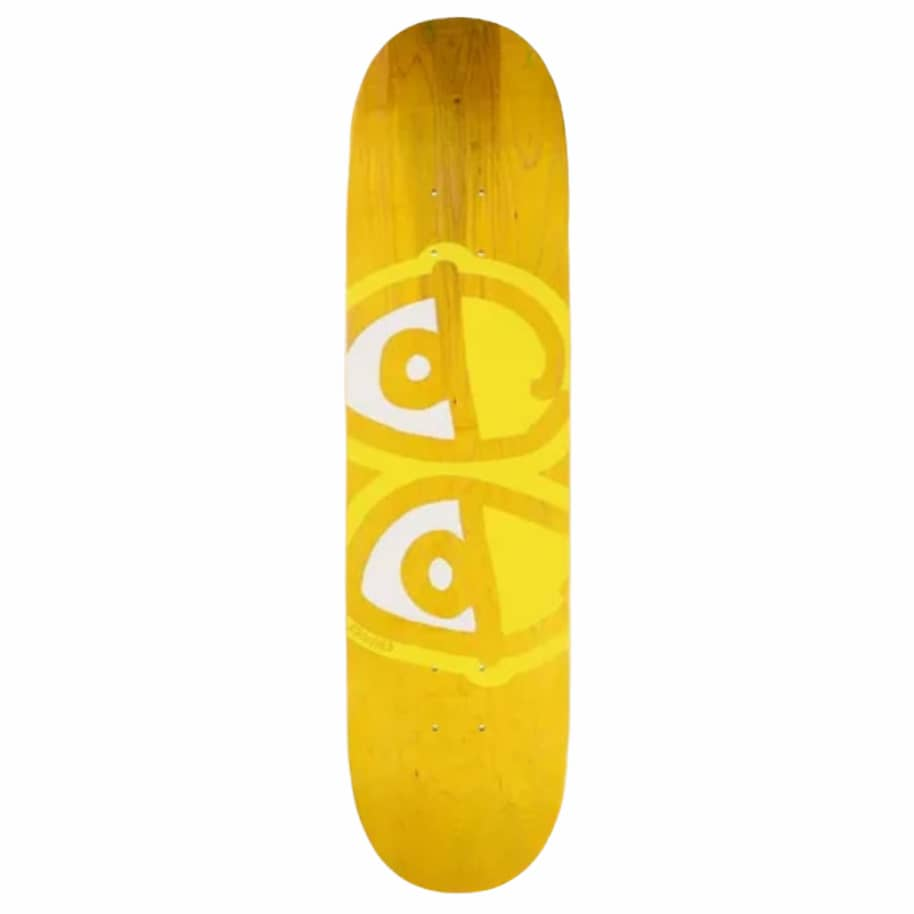 Krooked - Team Eyes - Yellow | Deck by Krooked Skateboards 1