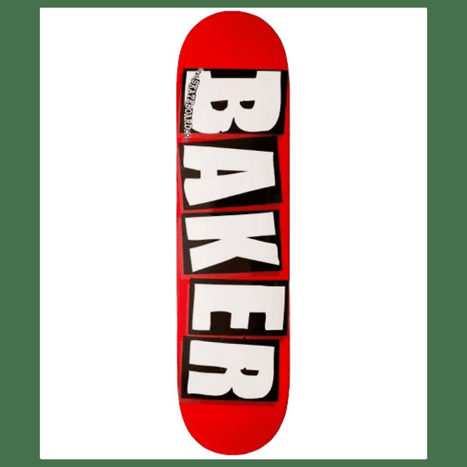 """Baker Skateboards - Brand Logo Red/White - 7.88""""   Deck by Baker Skateboards 1"""