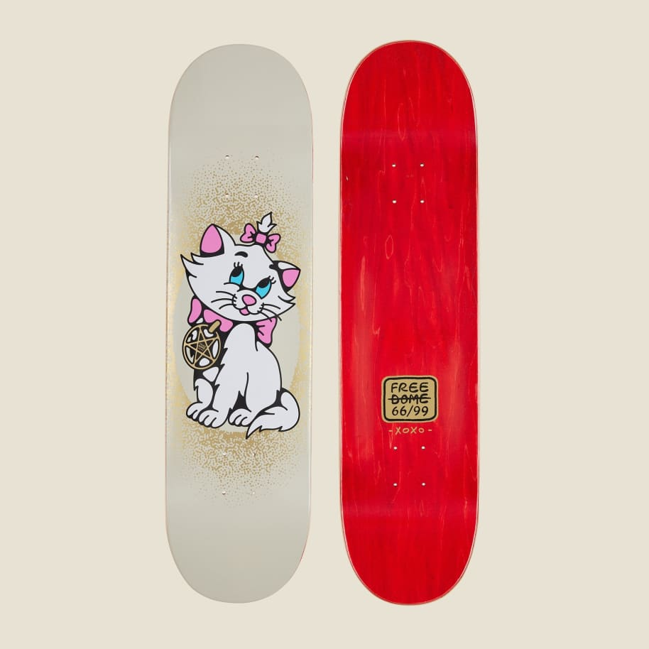 """Free Dome Bad Pussy Deck - 8.0"""" 