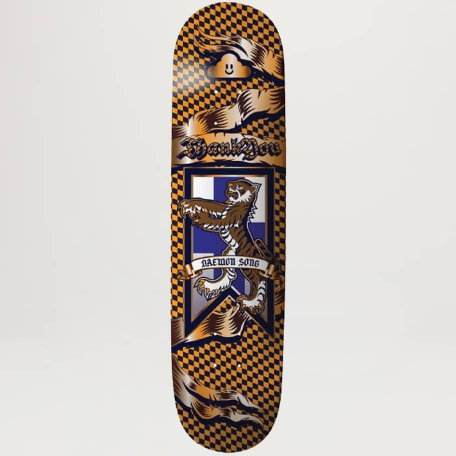Thank You Daewon Song Medieval 8.125   Deck by Thank You Skate Co 1