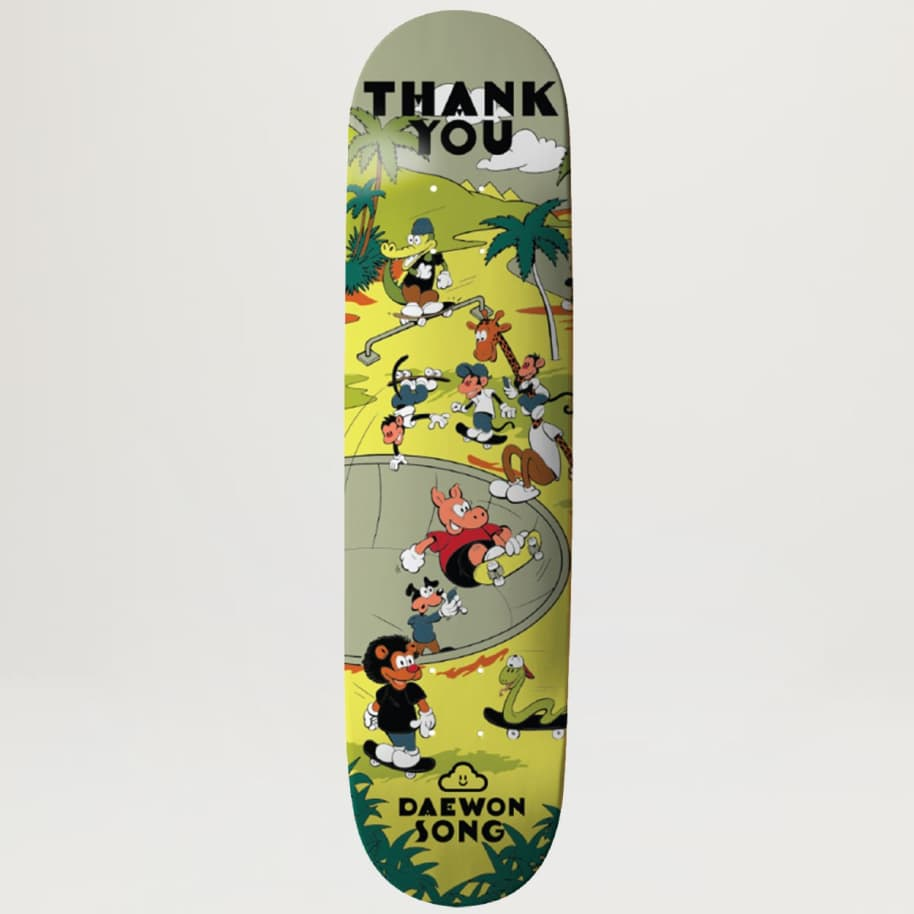 Thank You Daewon Song Skate Oasis 8.25 | Deck by Thank You Skate Co 1