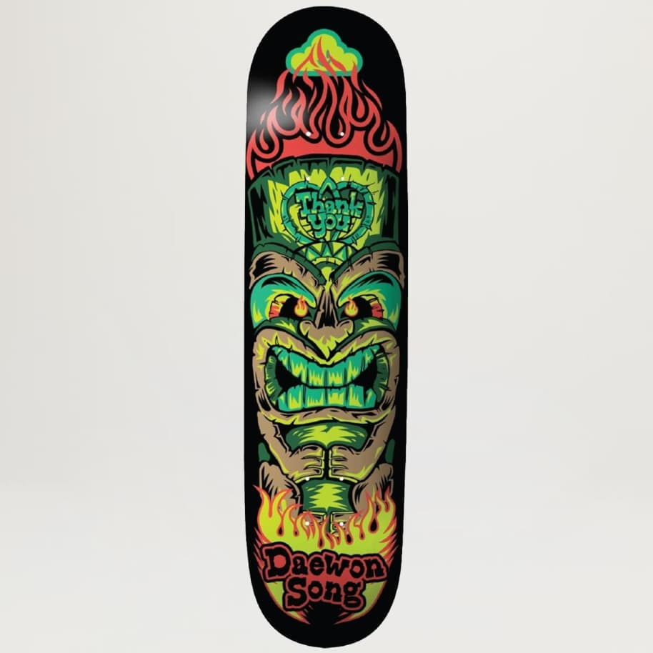 Thank You Daewon Song Tiki (Assorted Sizes) | Deck by Thank You Skate Co 1