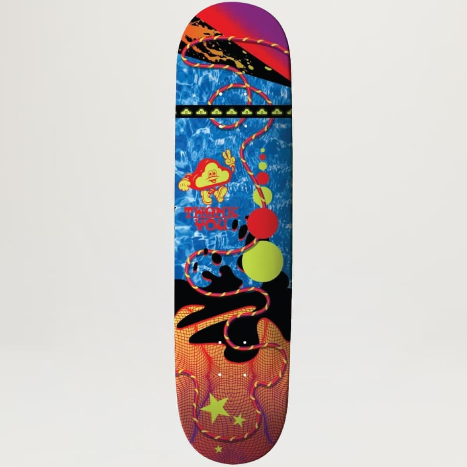 Thank You Ripple Grid 8.12 | Deck by Thank You Skate Co 1