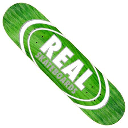 Real - Oval Pearl Patterns Deck (Multiple Sizes)   Deck by Real Skateboards 1